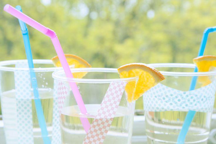 Ha en juicebar och bjuda hela skolan på goda förfriskningar nu när våren är så varm!