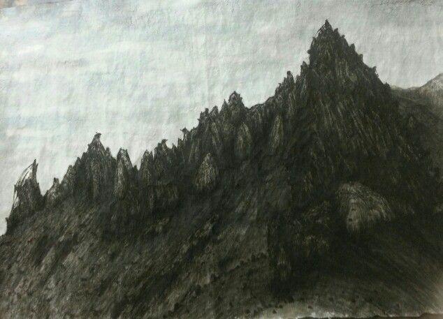 The landscape of Korean Seorak Mountain
