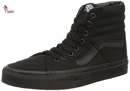 Vans SK8-HI, Sneakers Hautes Mixte Adulte, Noir (black/black/black) 43 EU - Chaussures vans (*Partner-Link)