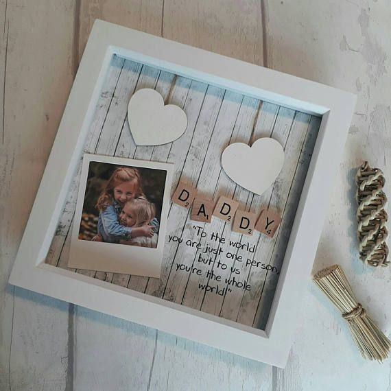 Fathers Day gift DAD GRANDAD BIRTHDAY Father/'s Personalised Print Framed Gifts