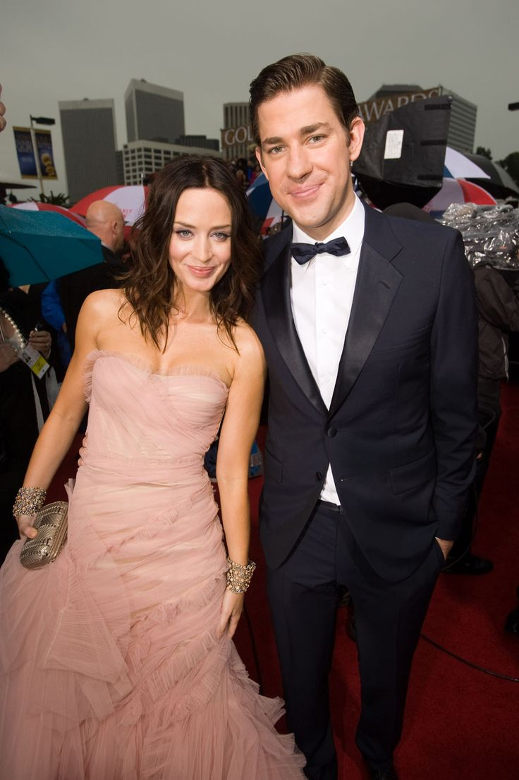 John Krasinkski and Emily Blunt / They are the cutest!