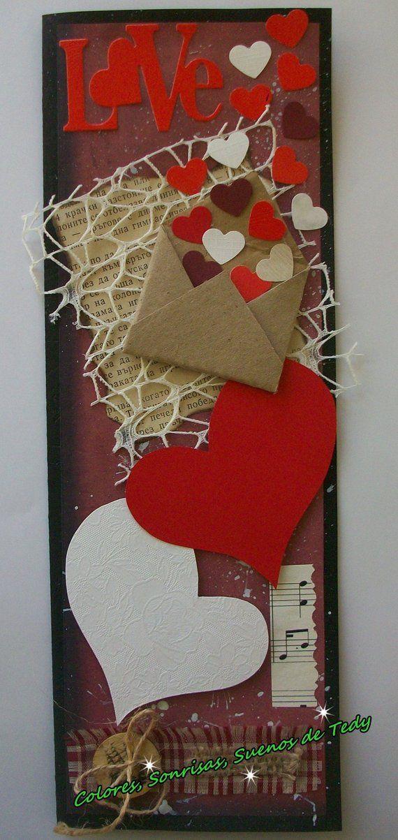 Valentinskarte für Freund, Ehemann, Valentinstag Geschenk für ihn, erste Valentinstag Papierkarte, Geburtstagskarte für Mann, ich liebe dich   – Love