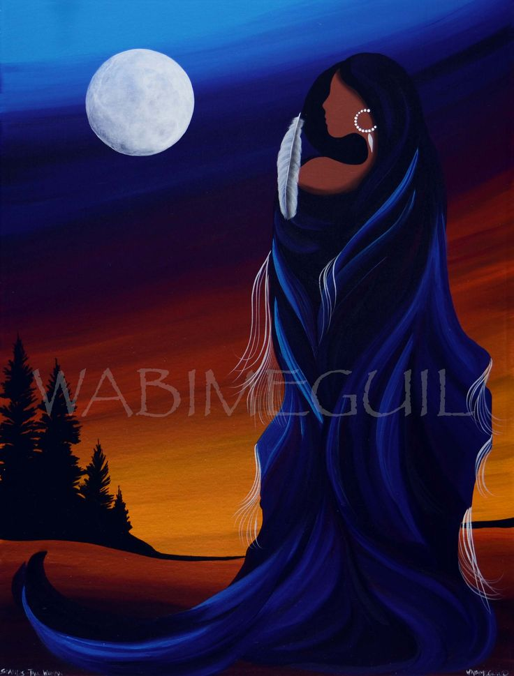 Stands Tall Woman by Wabimeguil - 2017   visit wabimeguil.artstorefronts.com to see more