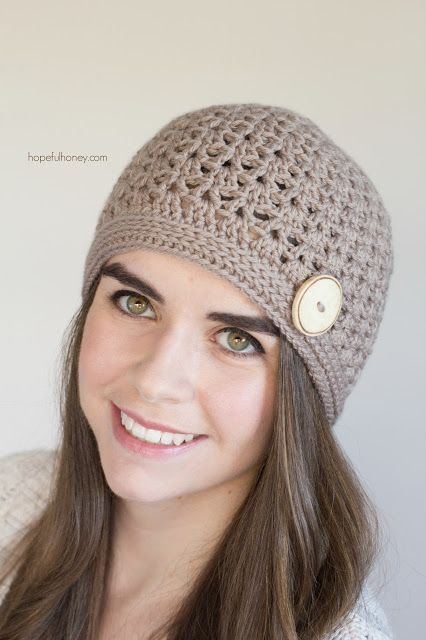Spiced Nutmeg Hat - Giveaway + Crochet Pattern