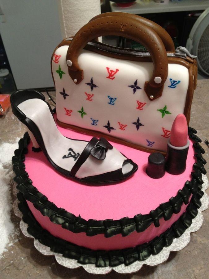Glamorous Birthday Cakes Glamorous Birthday Birthday