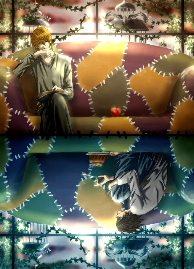 Death Note ~~ Longing for the one he foolishly killed :: L / Light