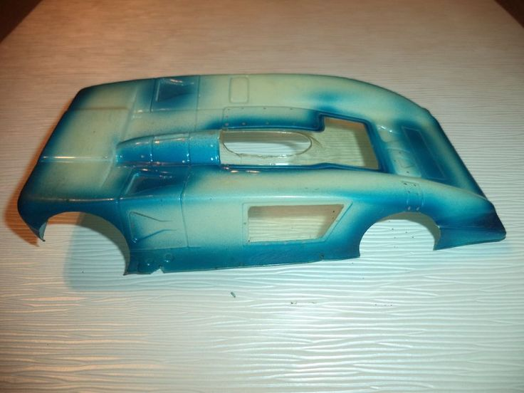 Slot car body shells