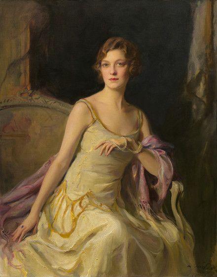 Ailsa Mellon Bruce (1901-1969), Philip Alexius de Laszlo - 1926 daughter of Andrew Mellon who ambassador to Great Britain