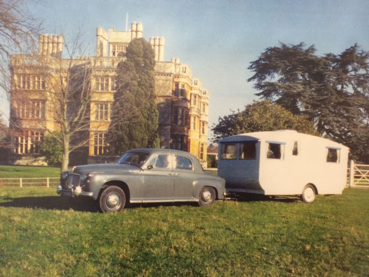 1955 Bailey Maestro - oldest known surviving Bailey caravan available to view at the M-Shed, Bristol