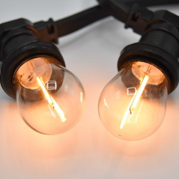 Complete Prikkabel Set Met 1 Watt Filament Lampjes Prikkabelled Nl Lumenxl Bv Led Lamp Led Lampen