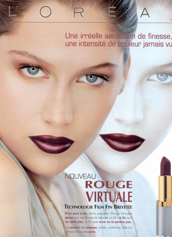 Laetitia Casta For L Oreal Cosmetics Ads Pinterest