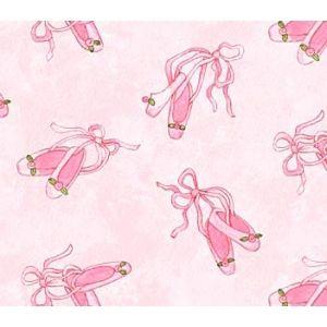 Tela de zapatillas rosas de bailarina http://www.gloriapatchwork.com/tienda/Bailarinas/9176-zapatillas-de-bailarina-en-rosa.html