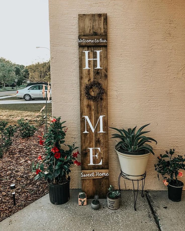 Welcome Sign Home Sweet Home Sign Welcome Porch Sign Etsy Welcome Signs Front Door Porch Welcome Sign Porch Signs