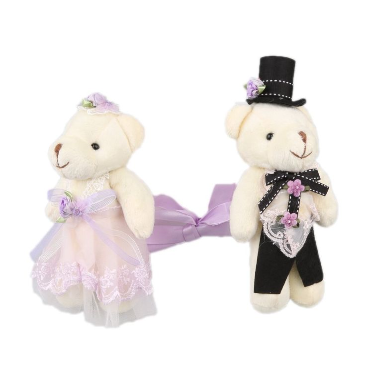 Dovewill Pack 2 Plush Bear Design Curtain Tieback with Adjustable Ribbon Rope String for Home Wedding Decoration - Purple -- Visit the image link more details. (This is an affiliate link and I receive a commission for the sales)