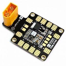MATEK Mini Power Hub PDB XT60 Power Distribution Board with BEC 5V/12V for FPV Drone Quadcopter QAV210 QAV-R QAV-X  Yellow