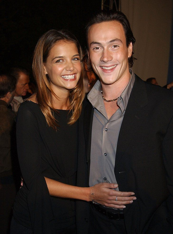 Pin for Later: 66 Celebrity Couples You Most Definitely Forgot About Katie Holmes and Chris Klein Katie and Chris were a pair from 2000 to 2005, during which they became engaged.
