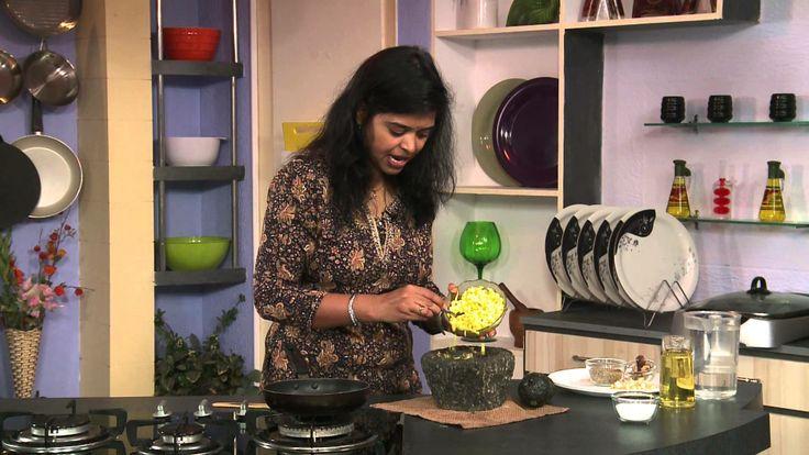 Kacha Pacha Chutney with Raw Mango and Yellow Cucumber