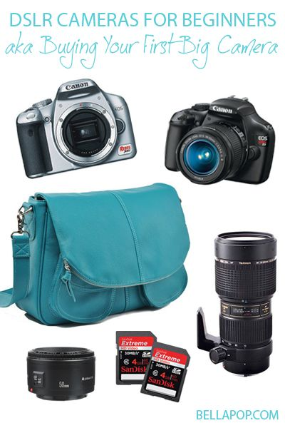 If you're an aspiring photographer, this post is for you! TONS of camera combinations at different price points. (Where was this when I was a newbie?!)