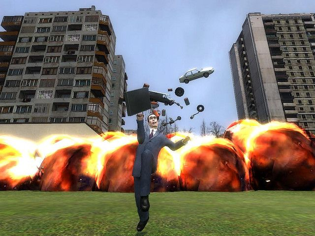life of gmod (boom!) made with gmod (garrys mod) very funny game (pres all sizes for better pic) . Great Picture!