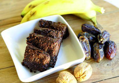 Brownies santé à la banane avec Bambu®
