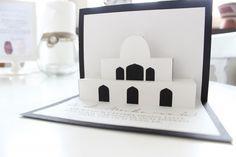 Ramadan crafts - Pop up mosque! Free printable template.