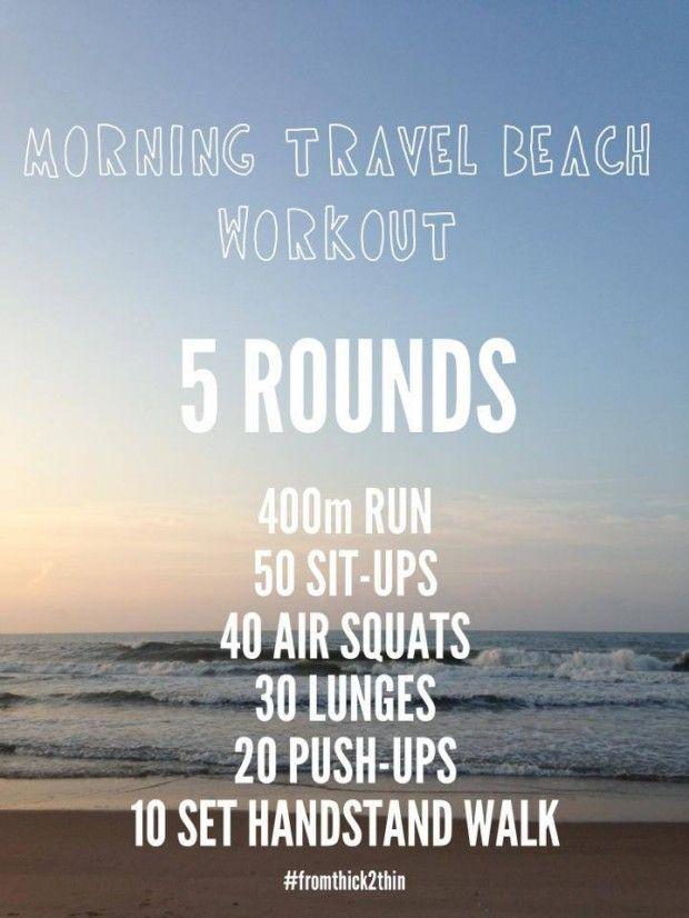 beach workout #wod #workout #beach