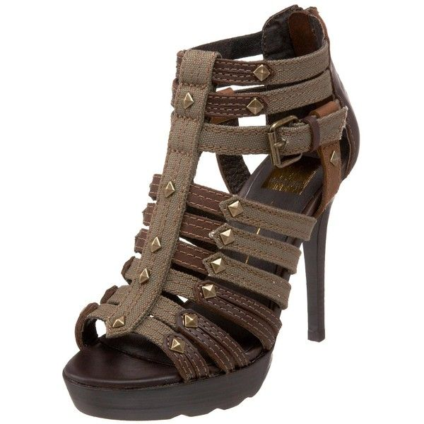 Dolce Vita Women's Fox Platform Sandal ❤ liked on Polyvore featuring shoes, sandals, heels, gladiator sandal, platform heel sandals, high heel shoes, heeled sandals and strappy sandals