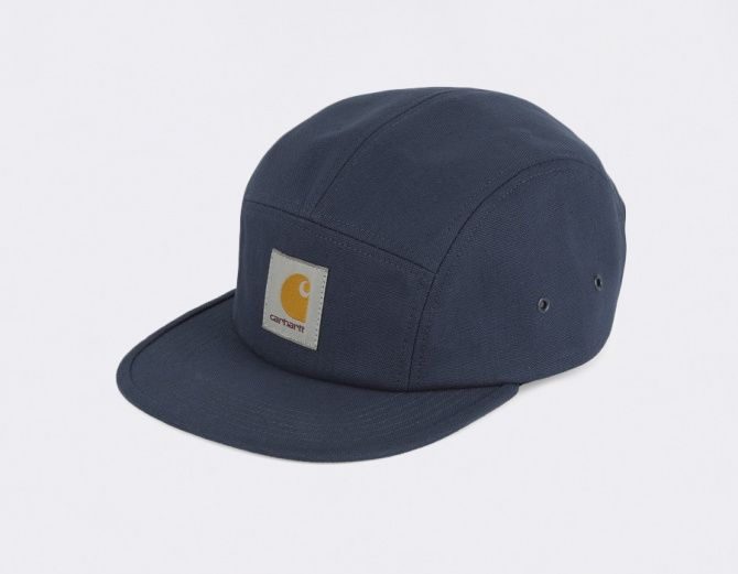 #Carhartt Caps 5 Panel Backley Blue
