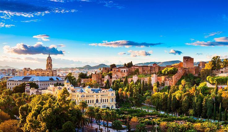 Onde Ficar em Malága na Espanha #viagem #viajar