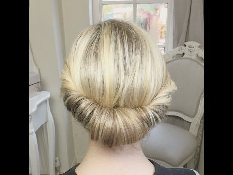 2 Methods of Creating a Chignon by SweetHearts Hair Design - YouTube