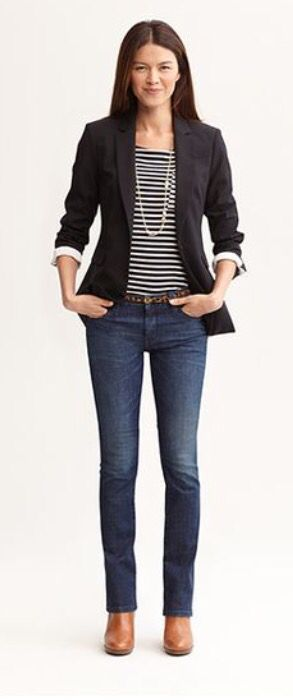 Great casual day outfit if jeans are allowed