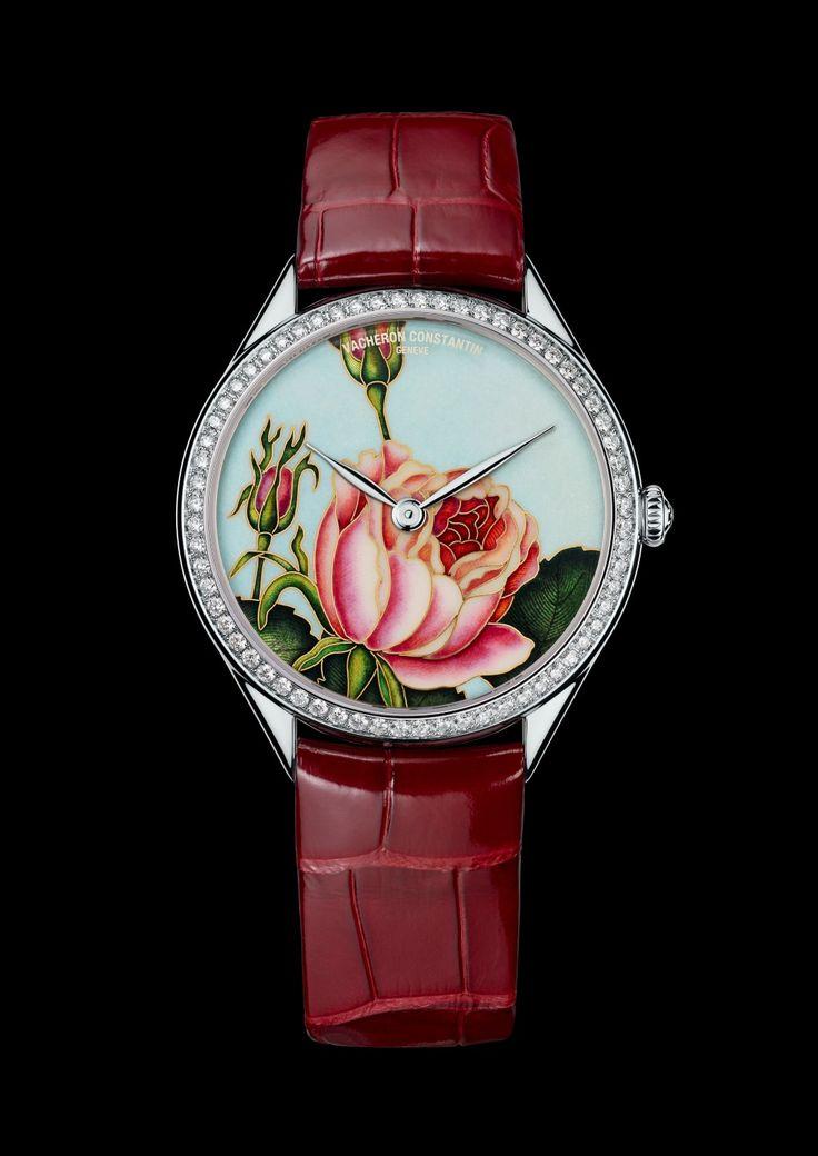 Métiers d'Art Florilège de #Vacheron Constantin - Rosa Centifolia