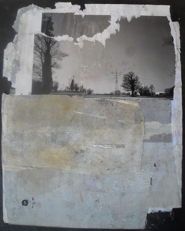 Title: Senza Titolo – 2014  Mixed media, photo and collage, paper on wood  Size: 39x29  Unique piece
