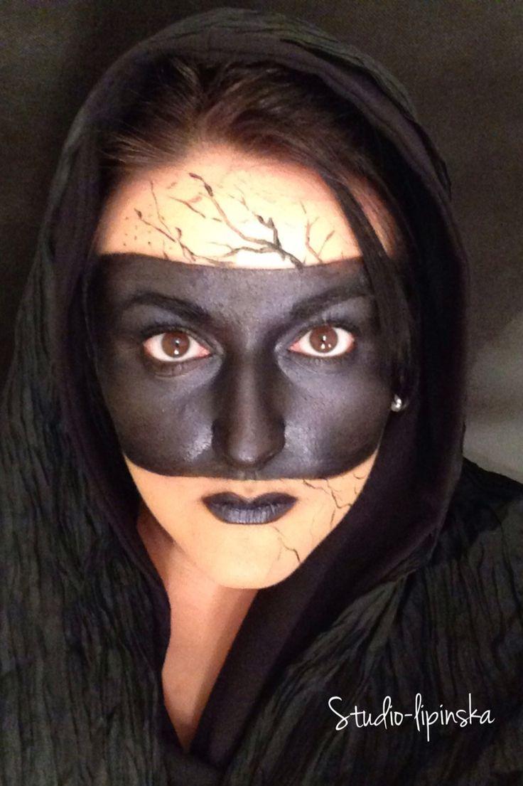 Halloween makeup, photo, stylist , #halloweeninspiration, Dorota Lipińska   Studio- Lipinska