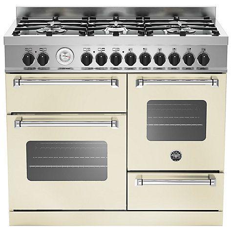 Buy Bertazzoni MAS1006MFET Electric Dual Fuel Cooker Online at johnlewis.com