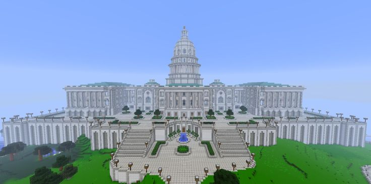 biggest house ever in minecraft | This is my biggest build i ever made on the server. It is the remake ...