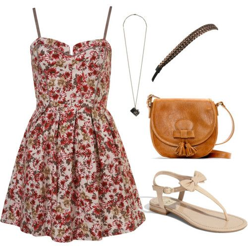 love this outfit for a bbq or party but i would not wear the headband