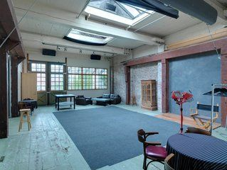 The Ironworks Studios in Vancouver : Rent Studio for Photography, Film, Performance, Unique Historic Urban Location