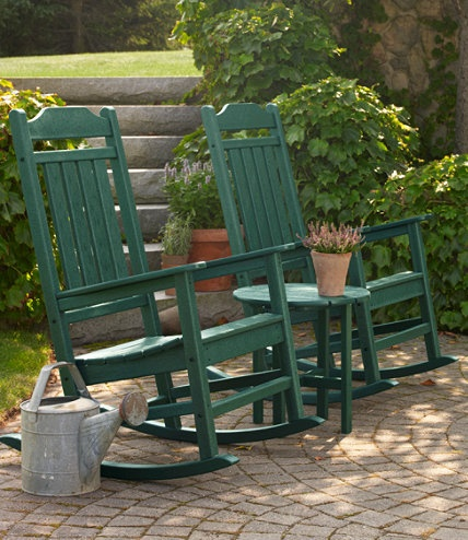All Weather Porch Rocker From L.L.Bean..I Could Sit And Rock For Hours