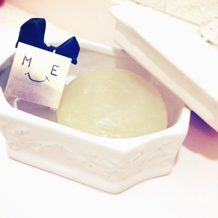 ミーちゃん愛用の石鹸♡
