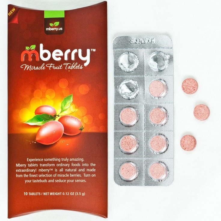 Foods To Eat With Miracle Berry Tablets