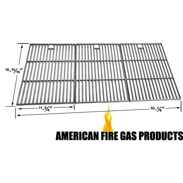 3 PACK CAST IRON WITH BLACK MATT ENAMEL COOKING GRID FOR GRILL ZONE 810-6650-T, NEXGRILL 720-0419 GAS MODELS Fits Compatible Grill Zone Models : 810-6650-T, 810-6670-T Read More @http://www.grillpartszone.com/shopexd.asp?id=35563&sid=17429