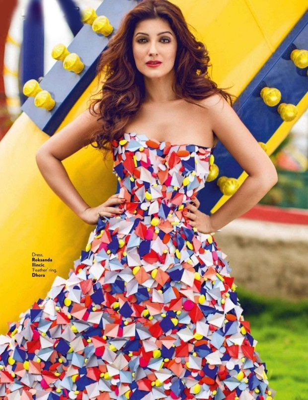 twinkle khanna photoshoot for vogue magazine august 2014