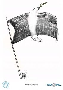 Boligán. Originario de Cuba, Angel Boligán Corbo, es titulado en Bellas Artes por la Universidad de La Habana (1987).
