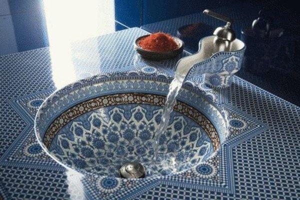 Beautiful Sink, from 'islamic interior design on Facebook