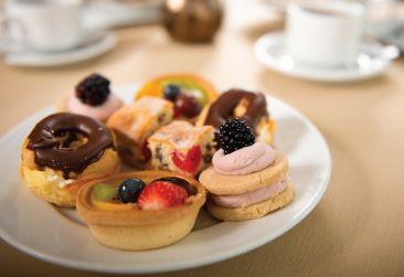 Afternoon Tea for 2 Gift Voucher only £29.90  A selection of handmade finger sandwiches. Freshly baked fruit scones served withclotted cream and strawberry preserve. Assortment of elegant cakes and fancies.Fruit cake. Freshly brewed Tea and Coffee.  £29.90 with option to add a glass of fizz for £39.90