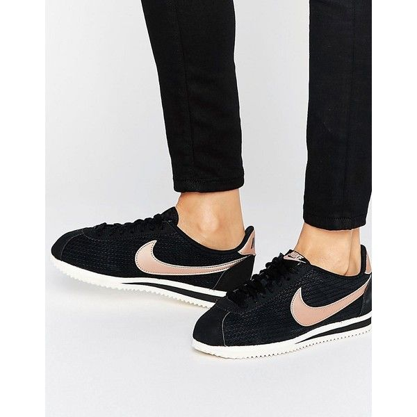 newest collection 2a307 20c2c Nike Cortez All Black Suede