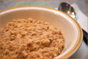 Varm kornfrokost | Norsk Vegetarforening