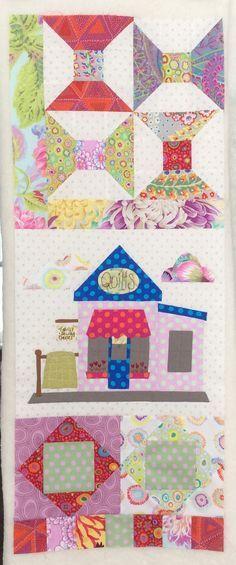 Resultado de imagen de quilt de Natalie Bird