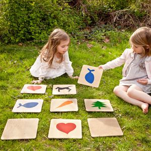 outdoor memory game